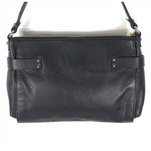 Banana Republic Bags - Banana Republic Leather Black Shoulder Bag